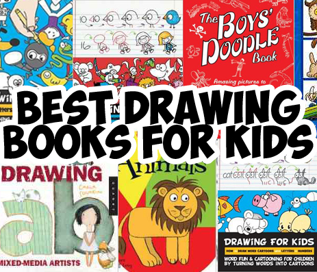list of best drawing books for young kids preschoolers homeschooled kids