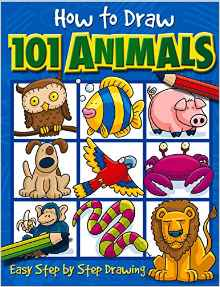 drawing101animals - Drawing Books For Kids