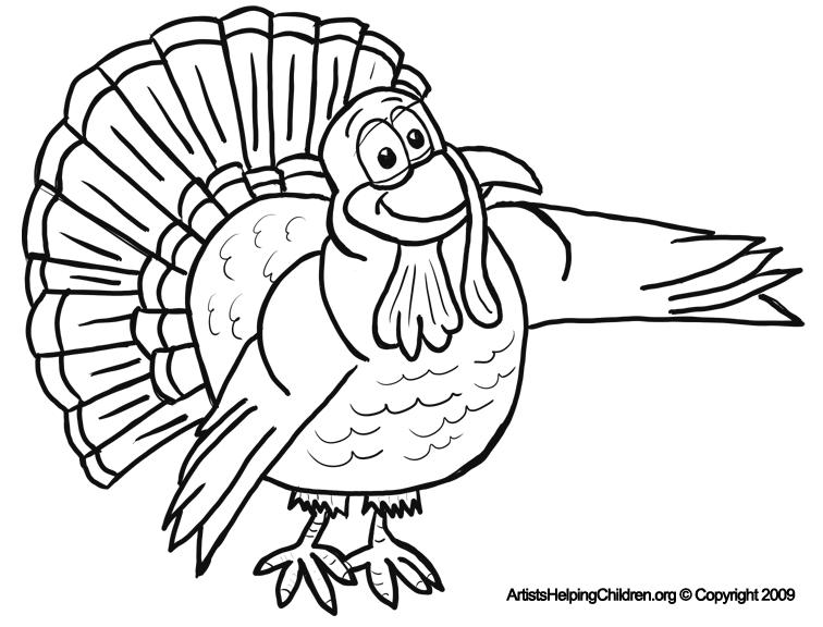 Number Names Worksheets free printable thanksgiving worksheets for kids : Thanksgiving Cartoon Turkeys Coloring Pages Printouts & Turkey ...