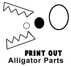 Print Out Alligator Parts