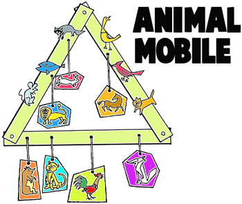 How to Make Mobile with Animals