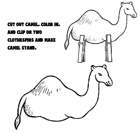 Camel Crafts for Kids: Make your own arts and crafts camels projects ...