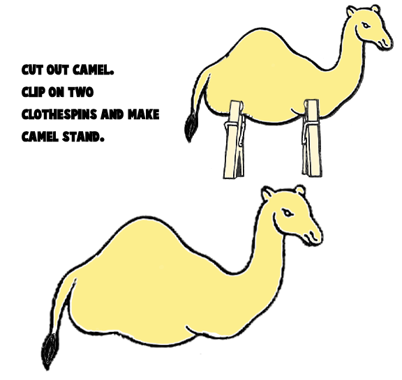 Camel Crafts For Kids Make Your Own Arts And Camels Projects