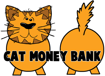 How to Make Kitty Cat Piggy Banks