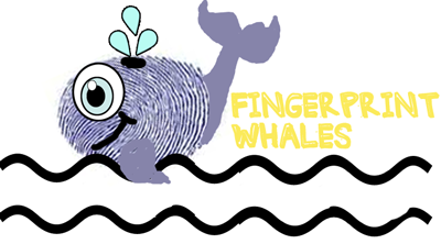 Make Thumbprint Whales