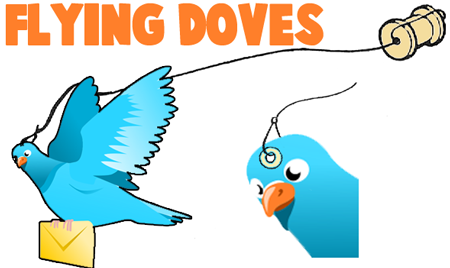 How To Make Flying Spool Doves