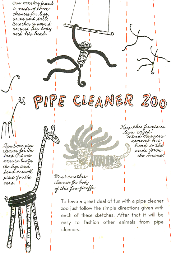 Pipe Cleaner Animal Crafts