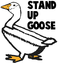 How to Make a Stand up Paper Goose