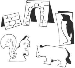 Making Paper Cut-Out Animals