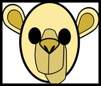 How To Make Paper Camel Masks