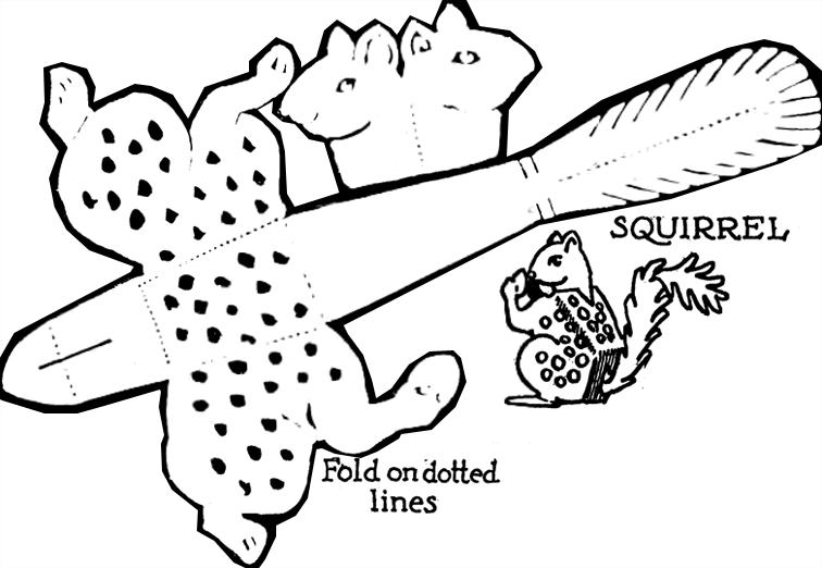 paper folding models - paper folding diagrams - paper folding projects