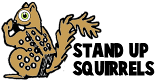 Making Stand-Up Paper Squirrels