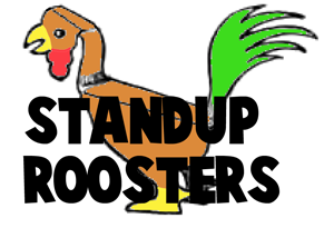 Make a Foldable Paper Craft Stand-Up Rooster