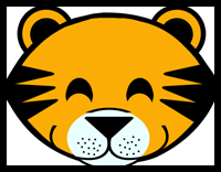 image relating to Tiger Mask Printable referred to as Tiger Crafts for Children: Recommendations in the direction of crank out tigers with very simple arts
