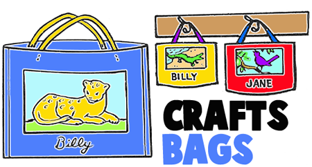 Classrooom Arts and Crafts Folders and Bags