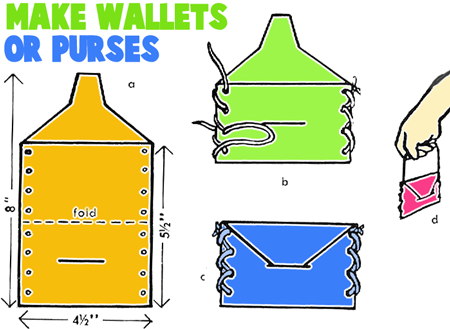 How to Make Wallets or Purses