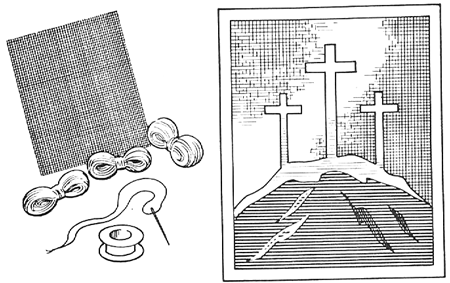 How to Sew Christian Crosses