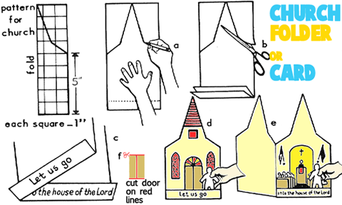 How to Make Churh Steeple Cards