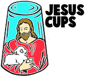 Make Jesus Plaster Cups