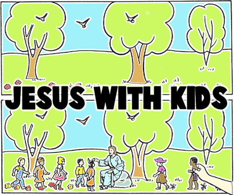 Painting Jesus with Kids