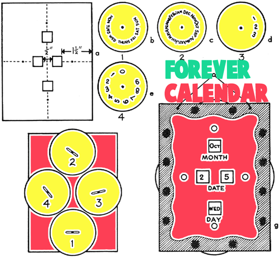 Make Dad a Forever Changing Calendar
