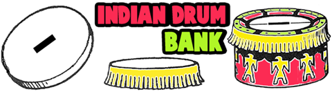 Make Tin Can Indian Drum Banks
