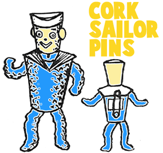 Making Little Sailor Pins