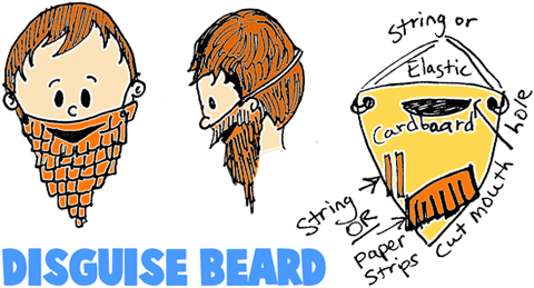 Making Beard Masks