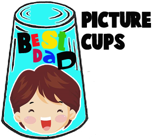 How to Make Picture Cups for Daddy