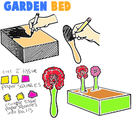 How to Make Garden Beds with Wooden Spoons