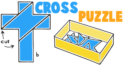How to Make Christian Cross Jigsaw Puzzles