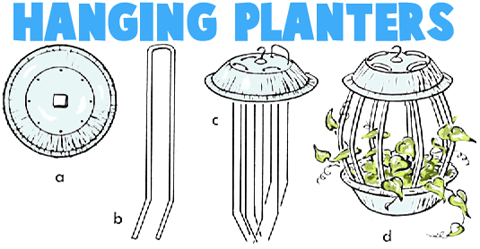 How to Make Hanging Planters