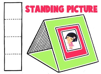Crafting Standing Picture Frames