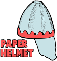 Making Paper Battle Helmets