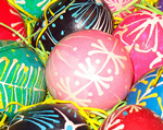 Another Wax Engraving Process for Decorating Eggs
