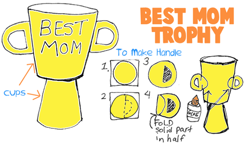 Make a Best Mom Trophy