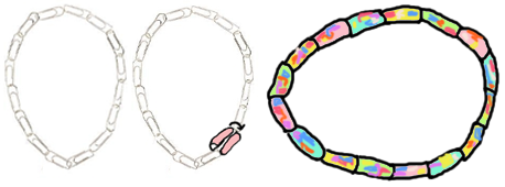 Paper Clips Necklaces and Bracelets