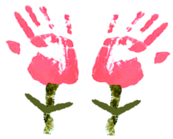 Make Handprints Flowers