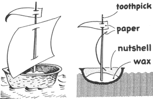 Make a Nut Shell Boat
