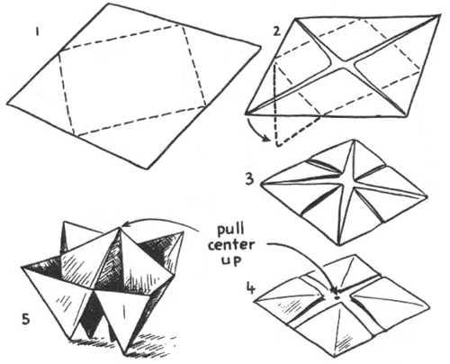 Origami Boxes How To Fold Origami Paper Boxes Paper Folding