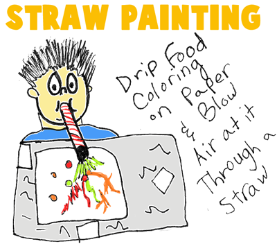 Straw Paintings