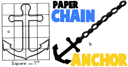 How to Make Paper Chain Anchors
