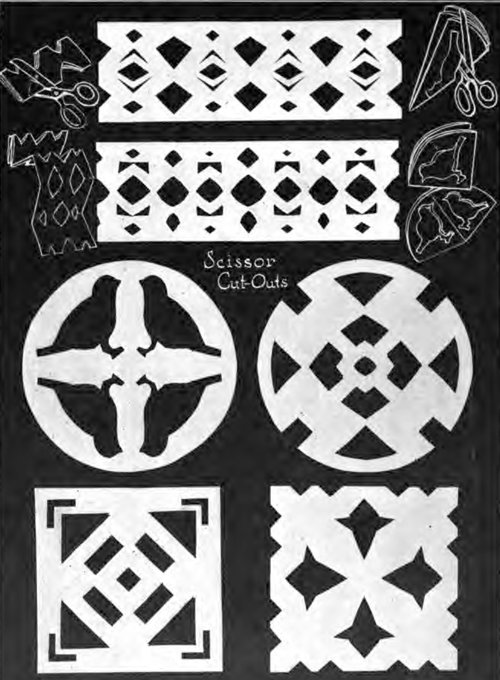 paper cutting arts crafts for kids   ideas for 3d paper