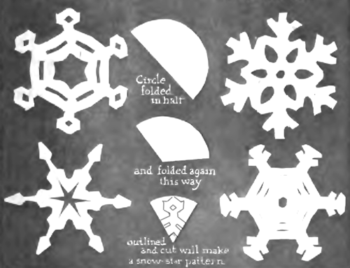 simple snowflake patterns for kids. Even More Paper Snowflakes