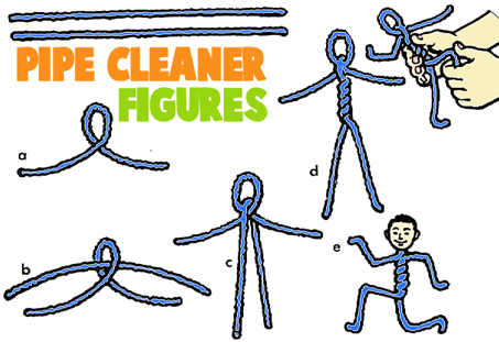 How to Make Pipe Cleaner Figures