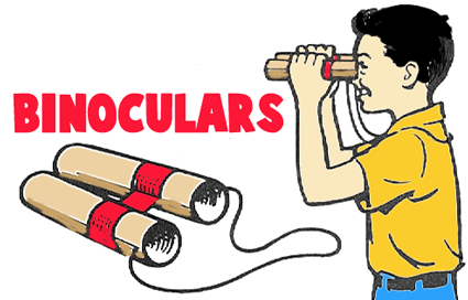 Kaleidoscopes Telescopes Binoculars Crafts For Kids To