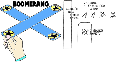 Make Toy Boomerangs