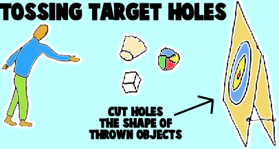 Toss in the Holes Targets