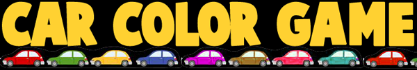 Color Matching Game - Variation for Cars and Vehicles