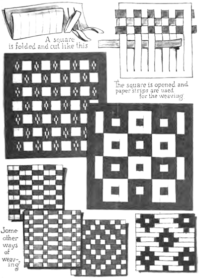 Paper Weaving Crafts For Kids Instructions To Weave With Strips Of